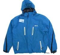 Alpine Mens Size 2XL Blue Skiing Coat Coat
