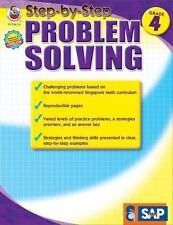 Step-by-Step Problem Solving, Grade 4 (2012, Paperback)