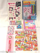 ❤️HELLO KITTY LOT 😺 Christmas 🎄 Tattoos Stickers ~Birthday Party Favors ~NEW❤️