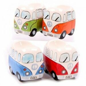 Camper Van Eggie Set of 4 Egg Cups