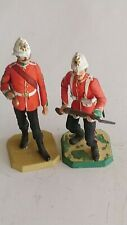 Two Rose Vintage Miniature Lead Soldiers. #9