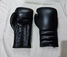 Custom Full Black Boxing Gloves any logo & color,inspired by winning grant twins