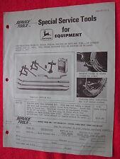 1971 FOR JOHN DEERE DEALERS NEW TRACTOR TIRE BEAD BREAKER ORDER FORM / BROCHURE
