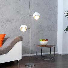 Design Stehlampe BUBBLE weiss Retro Stehleuchte Lampe Leuchte 60er 70er Kugeln