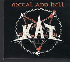 KAT - METAL AND HELL TOP RARE POLISH OOP CD KOSTRZEWSKI TURBO VADER BEHEMOTH TSA
