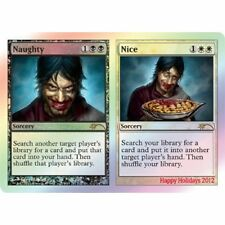 MTG Happy Holidays Promo * Naughty // Nice FOIL