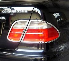 MERCEDES CLK W208 A208, C208  Chrome Rear Light Trim Surrounds 1997 to 2002