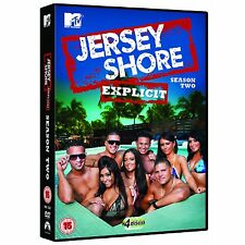 JERSEY SHORE Complete Season 2  DVD - 4 Disc Set New & Sealed