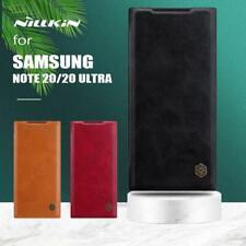 Original Nillkin for Samsung Galaxy Note20 Ultra S20+ A71 Case Leather Flip Case