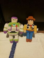 Disney Toy Story Crossy Road Buzz And Woody Mini Stuffed Animal plush toys