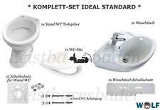 *KOMPLETT SET* Ideal Standard Tiefspül Stand WC Softclose Sitz Waschtisch 55 cm