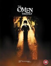 THE OMEN 1-3 TRILOGY (1976-1981):  DVD - Damien  I, II, Final Conflict - NEW UK