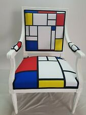 "Fauteuil Jacob ""Louis XVI - Tribute Piet Mondrian"""