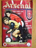 Arsenal v Tottenham Hotspur 1996/97 programme
