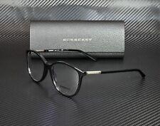 BURBERRY BE2128 3001 Black Demo Lens 52 mm Women's Eyeglasses