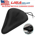 Bike Bicycle Gel Cushion Extra Comfort Sporty Wide Big Soft Pad Seat Cover NEW