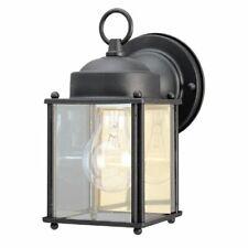 Westinghouse Lighting 6697200 One-Light Exterior Wall Lantern, Textured Black Fi