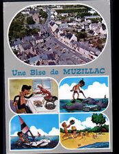 MUZILLAC (56) CENTRE VILLE en vue aérienne / Humoristique