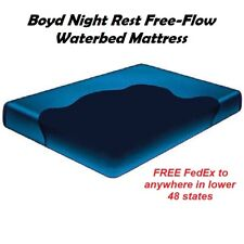 Queen Boyd Nightrest Freeflow Waterbed Mattress - Direct Pricing - Free Fedex