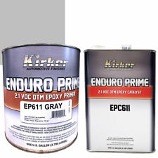 Kirker Enduro Prime Epoxy Primer Gray EP611 One Gal and Catalyst EPC611 One Gal