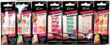 (7) Kiss Nail Dress Nail Wraps Full French Tips & Toes New Unique Sets No Repeat