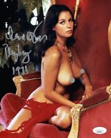 LANA WOOD Signed PLAYBOY 8x10 Photo NUDE James Bond Autograph JSA COA Cert