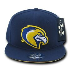 Navy Blue Marquette Golden Eagles NCAA Flat Bill Snapback Baseball Ball Hat Cap