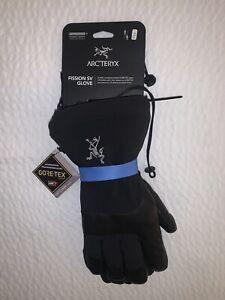 Arcteryx Fission SV Gloves XS Gore-Tex Black/Infared Brand New NWT