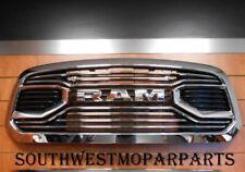 "2013-18 Dodge Ram 1500 Chrome Grille ""Ram"" Letters Oem# 6Nm18Sz0Aa"