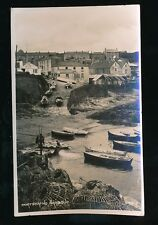 Cornwall PORTSCATHO Harbour Used 1949 RP PPC by Photochrom