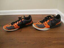 Used Worn Size 14 Nike KB Kobe Mentality Shoes Black Orange White