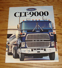 Original 1987 Ford Truck CLT-9000 Sales Brochure 87