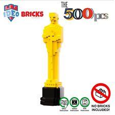 Moc Lego Hollywood OscarStatue Trophy ART decor Award Trophy ONLY Instruction!!