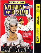 VHS Katharina von Russland - Hildegard Knef, Sergio Fantoni - Videotape