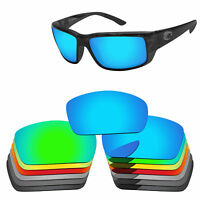 Polarized Replacement Lenses For-Costa Del Mar Fantail Sunglasses Multi-Options