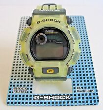 Vintage NOS Casio G-Shock G-Lide Watch DW-9000S-9VT Yellow NIB Wrist Watches