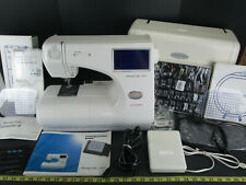 Janome Memory Craft 9000 Sewing Machine With Extras Digital Computer Embroidery