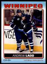 2012-13 O-Pee-Chee Stickers Andrew Ladd #S-97