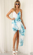 Polyester Sundress Hand-wash Only Multi-Colored Dresses for Women