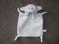 Bearington Baby lamb lovely security teething blanket