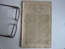 Vermont Rural Magazine Repository Colonial Magazine Antique Jesuit Germany 1796