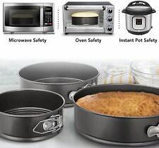 4/7/9/10'' Nonstick Springform Pan Leakproop Cake Tray Bakeware Cheesecake