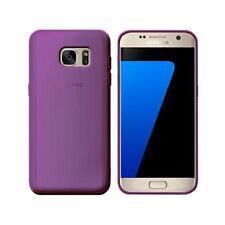 Cover per Samsung Galaxy S7, in silicone TPU trasparente Viola