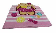 Accappatoio per bambina Hello Kitty asciugamano con cappuccio colorato rosa