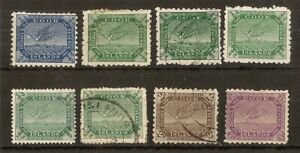 Cook Islands 1893-1919 White Tern (8v)