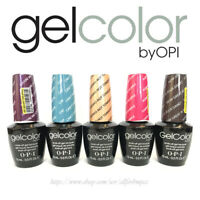 OPI O.P.I GelColor Gel Nail Color Soak Off UV LED Gel Polish 15ml 0.5oz Original
