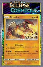 Cartes Pokémon rares groudon à l'unité