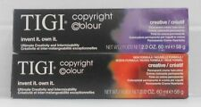 Tigi CREATIVE Professional Permanent Hair Colour Cream (New Pkg) ~U Pick~ 2.2 oz