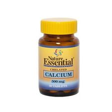 CALCIO QUELADO 500 MG 50 TABLETAS NATURE ESSENTIAL - Osteoporosis CALCIUM