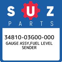34810-03G00-000 Suzuki Gauge assy,fuel level sender 3481003G00000, New Genuine O